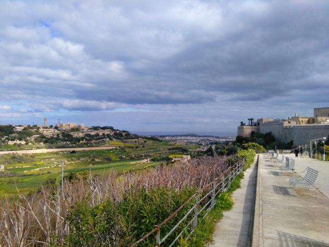 bývalé hlavní město Malty Mdina