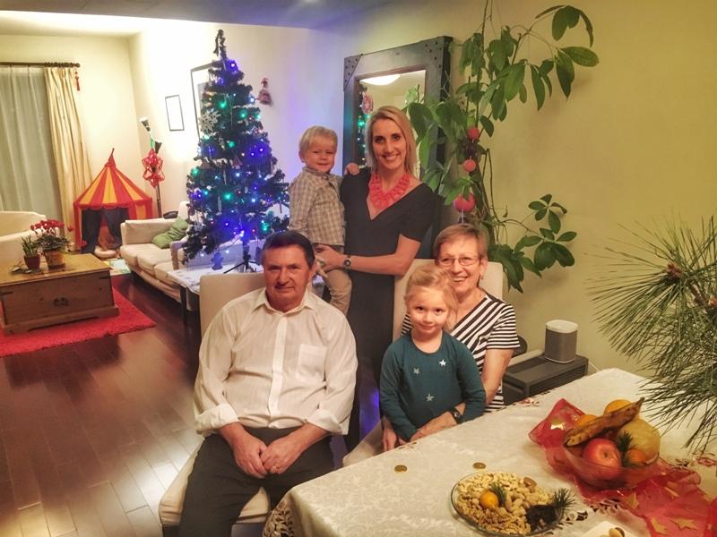 Vánoce na cestách s dětmi