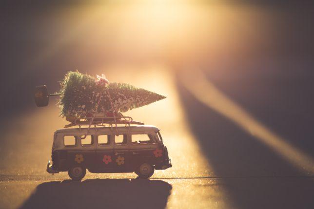 Vánoce s dětmi na cestách