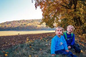 S dětmi v přírodě